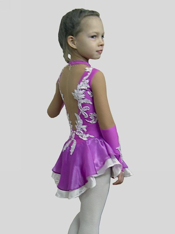 Сшить костюм для фигурного катания для девочки своими руками 46